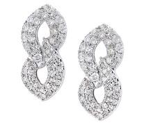 9 k (375)  Weißgold Rundschliff   weiß Diamant