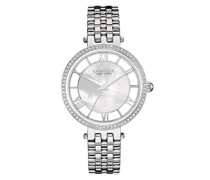 Caravelle New York Damen-Armbanduhr TRANSPARENCY Analog Quarz Edelstahl 43L183