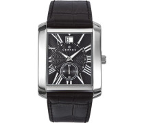 Herren-Armbanduhr Analog Quarz Leder 610984