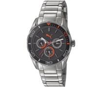 Puma Unisex-Armbanduhr Man Watch Challenger-S Analog Quarz PU103192005