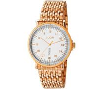! Herren-Armbanduhr Executive Analog Quarz Edelstahl JP100821F09