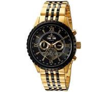 Armbanduhr für Herren mit Analog Anzeige, Automatik-Uhr mit Edelstahl Armband - Wasserdichte Herrenuhr mit zeitlosem, schickem Design - klassische Uhr für Männer - BM327-227 Denver