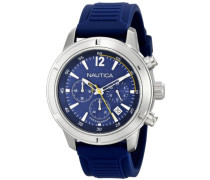 Herren-Armbanduhr Analog Quarz Silikon N17652G