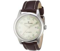 Herren-Armbanduhr XL Pilot Basic Analog Automatik Leder 17070.2533