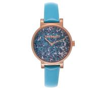 Damen-Armbanduhr Analog Quarz Leder CLD 028/2JJ