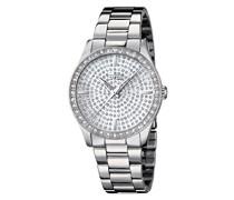 Damen-Armbanduhr Analog Quarz Edelstahl 18134/1