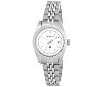 Damen-Armbanduhr Analog Quarz Edelstahl 12504