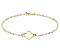 Damen-Armband Kleeblatt Basic 925 Silber 18 cm - 0203361015_18