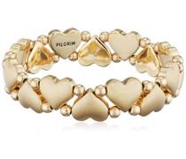 Damen-Armband Vergoldet mattiert 17 cm - 631712032