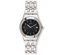 Damen-Armbanduhr Follow Ways Schwarz YLS437G