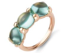 Miore Damen-Ring 9 Karat (375) Rosegold Peridot 4.5 ct Größe 58 MNA9002R58