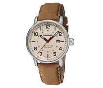 WENGER Unisex-Armbanduhr Analog Quarz Leder 01.0341.109