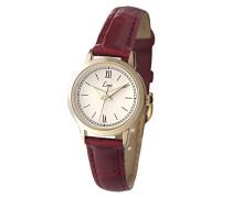 Limit–6978.35Damen-Armbanduhr–Quarz–Analog–Armband Polyurethan rot