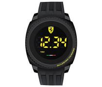 Ferrari Herren-Armbanduhr AERO TOUCH Digital Touch Screen Digital Quarz Silikon 0830229