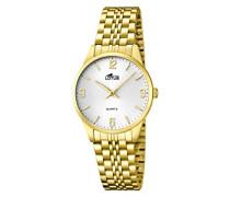 Damen-Armbanduhr XS Analog Quarz Edelstahl 15886/2