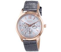 Regent Damen-Armbanduhr Analog Quarz Leder 12100579