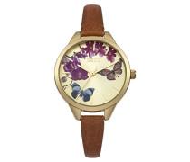 Oasis Damen-Armbanduhr Analog Quarz B1540