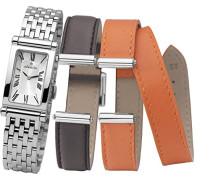 Damen-Armbanduhr Antares austauschbare Women'Armbanduhr mit silberfarbenem Zifferblatt Analog-Anzeige und Silber-Edelstahl-Armband/B01SO COF17448