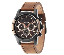 Police Herren-Armbanduhr SCRAMBLER Chronograph Quarz 14528JSBR/12