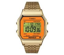 Unisex Erwachsene Armbanduhr Digital Quarz Edelstahl TW2P65100