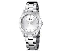 Damen-Armbanduhr Analog Quarz Edelstahl 18138/1