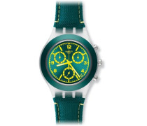 Swatch Quarzuhr Man Unisex Coleslaw 43 mm