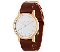Herren-Armbanduhr Walter Analog Quarz Leder 0705184599875