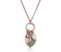 Damen-Collier Vergoldet Kristall 601734181