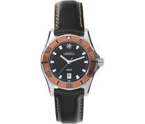 Damen-Armbanduhr Newport Trophy Analog Quarz Leder 14290/AO14