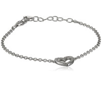 Armband aus rhodiniertem Sterlingsilber