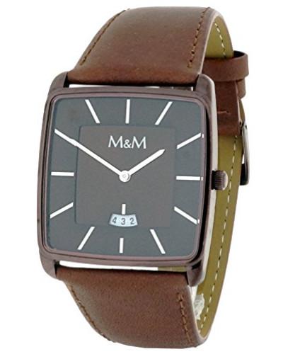 Herren-Armbanduhr Analog Quarz Kunstleder M11761-595