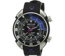 Sector Herren-Armbanduhr XL Analog Automatik Kautschuk R3251178025