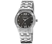 Damen-Armbanduhr XS Analog Quarz Edelstahl