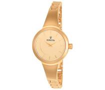 Damen-Armbanduhr Analog Quarz Edelstahl Beschichtet-23318