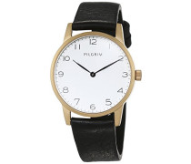 Damen-Armbanduhr Analog Quarz Leder 701532110