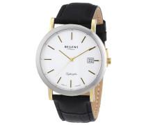 Regent Herren-Armbanduhr XL Analog Quarz Leder 11120101