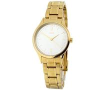 Damen-Armbanduhr Analog Quarz Edelstahl M11602-243