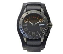 Herren-Armbanduhr Analog Quarz Leder 8501702