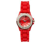 Eton Damen-Armbanduhr Analog Silikon rot 2910-7