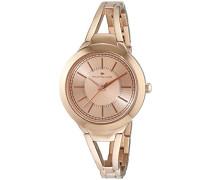 Damen-Armbanduhr Analog Quarz Edelstahl beschichtet 5413802