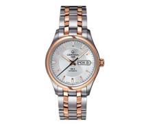 Certina Herren-Armbanduhr XL Analog Automatik Edelstahl C022.430.22.031.00