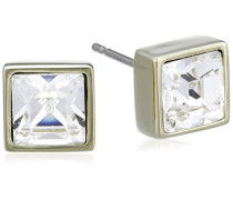 Damen-Ohrstecker Vergoldetes Metall Kristall Swarovski 336428