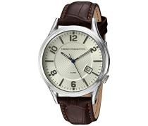 Herren-Armbanduhr Analog Quarz Leder FC1260TWA