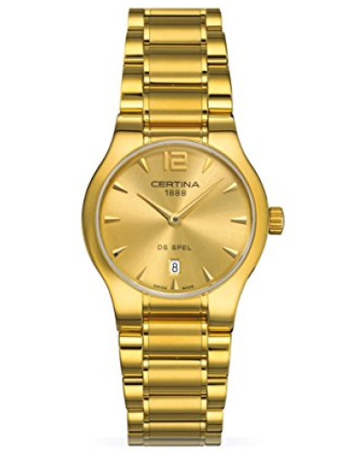 Damen-Armbanduhr XS Analog Quarz Edelstahl C012.209.33.027.00