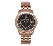 Herren-Armbanduhr Analog Quarz Edelstahl DHH 004-2AM