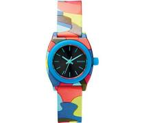 Nixon Damen-Armbanduhr Small Time Teller P Analog Quarz Plastik A4251988-00