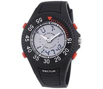 Sector Herren-Armbanduhr STREET FASHION Chronograph Quarz Kautschuk R3251172040