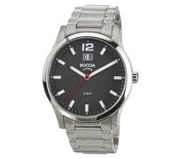 Herren-Armbanduhr XL Titanium Analog Quarz Titan 3580-02
