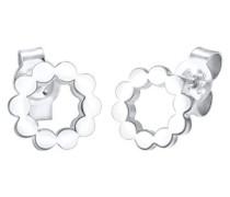 Damen-Ohrstecker Kreis 925 Silber - 0310340416