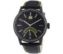Herren-Armbanduhr XL Moody Analog Quarz Leder ES103651005